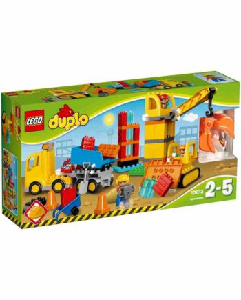 LEGO DUPLO Μεγάλο Εργοτάξιο Οικοδομής 10813