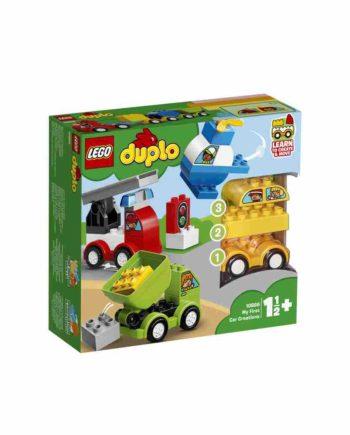 LEGO DUPLO Οι Πρώτες μου Αυτοκινητιστικές Δημιουργίες 10886