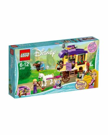 LEGO Disney Princess Το Ταξιδιωτικό Τροχόσπιτο της Ραπουνζέλ 41157