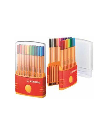 Μαρκαδόροι Ψιλής Γραφής STABILO Point 88 ColorParade Σετ 20τεμ