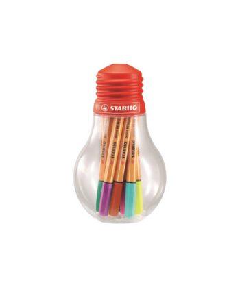 Μαρκαδόροι Ψιλής Γραφής STABILO Point 88 Mini Bulb 12τεμ