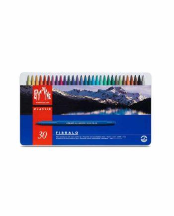 Μαρκαδόροι CARAN d'ACHE Fibralo 30 χρώματα