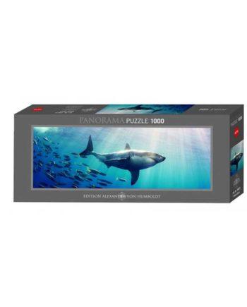 Panorama Puzzle HEYE White Shark 29672 - 1000 κομμάτια
