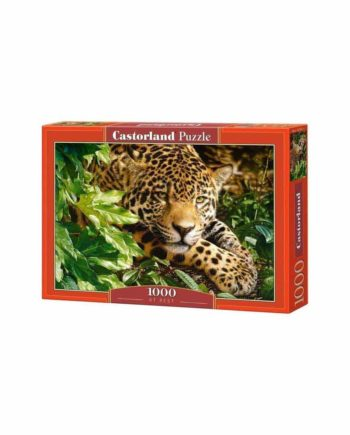 Puzzle CASTORLAND Leopard at Rest 102051 - 1000 κομμάτια