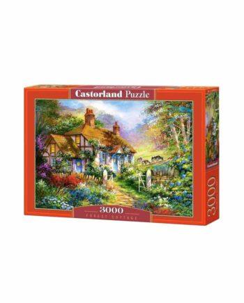 Puzzle CASTORLAND Forest Cottage C-300402-2 - 3000 κομμάτια