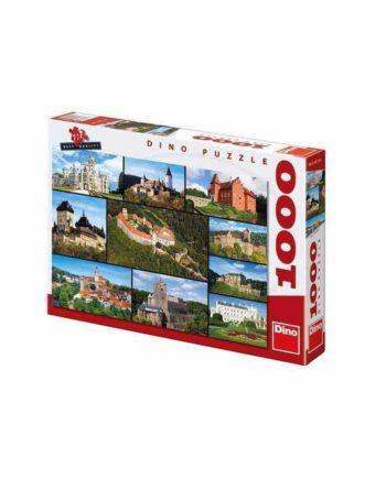 Puzzle DINO Castles 532052 - 1000 κομμάτια