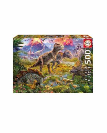 Puzzle EDUCA Dinosaur Gathering 15969 - 500 κομμάτια