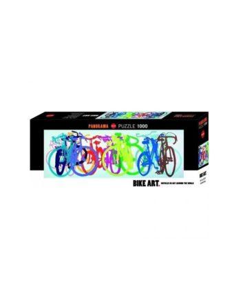 Panorama Puzzle HEYE Bike Art - Colourful Row 29737 - 1000 κομμάτια