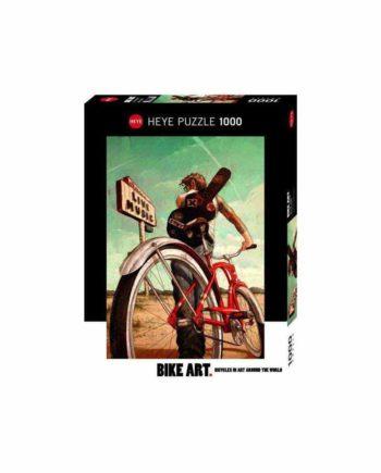 Puzzle HEYE Bike Art - Music Ride 29813 - 1000 κομμάτια
