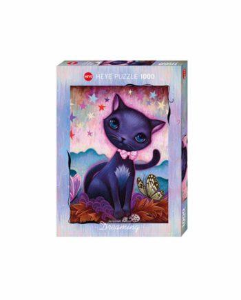 Puzzle HEYE Dreaming - Black Kitty 29687 - 1000 κομμάτια