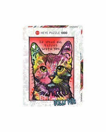 Puzzle HEYE Jolly Pets - 9 Lives 29731 - 1000 κομμάτια