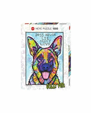 Puzzle HEYE Jolly Pets - Dogs Never Lie 29732 - 1000 κομμάτια
