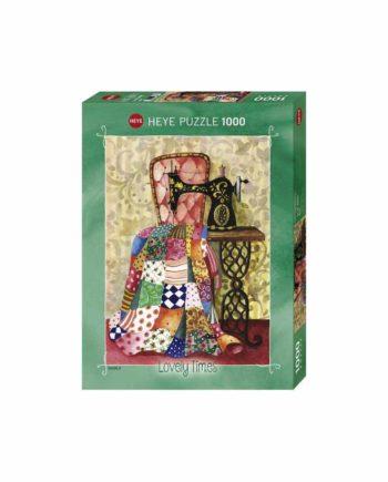 Puzzle HEYE Lovely Times: Gabila - Quilt 29868 - 1000 κομμάτια