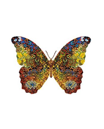 Puzzle JUMBO Shaped Butterfly 01672 - 1000 κομμάτια