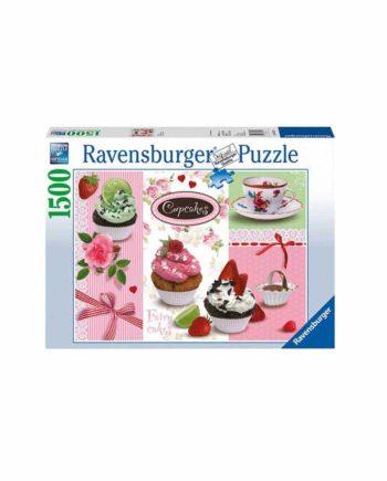 Puzzle RAVENSBURGER Cupcakes 16274 - 1500 κομμάτια