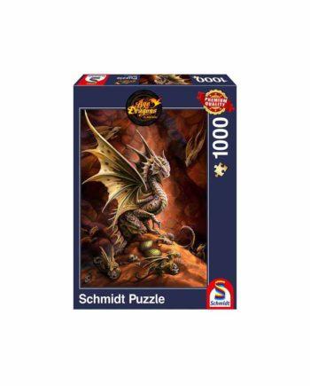 Puzzle SCHMIDT Age of Dragons - Dragon fo the Desert 58309 - 1000 κομμάτια