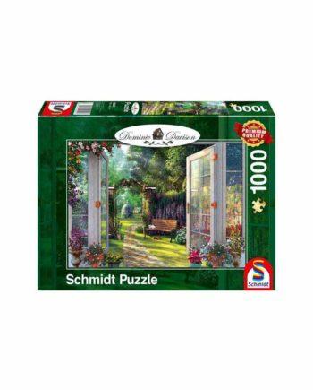 Puzzle SCHMIDT Dominic Davison - View Into The Enchanted Garden 59592 - 1000 κομμάτια