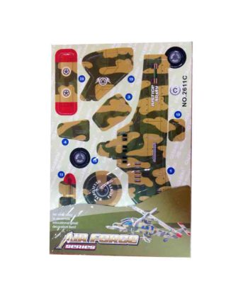 3d puzzle air force series helicopter c tetragono 1