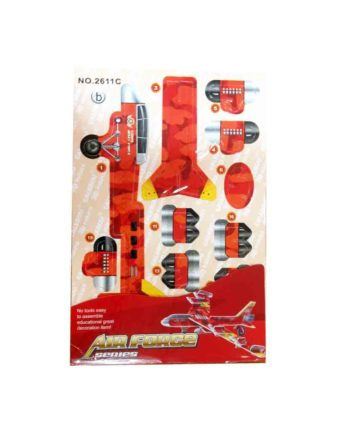 3d puzzle air force series jet b tetragono 1