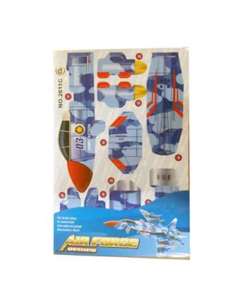 3d puzzle air force series jet c tetragono 1