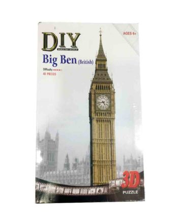 3d puzzle build my world big ben tetragono 2