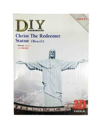 3d puzzle build my world christ the redeemer tetragono 2