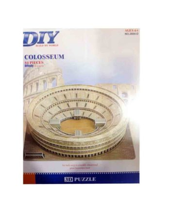3d puzzle build my world coloseum tetragono 2