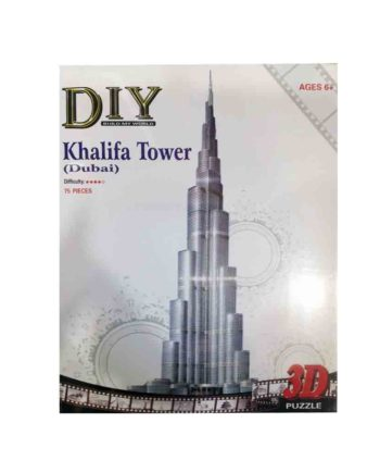 3d puzzle build my world khalifa tower tetragono 2