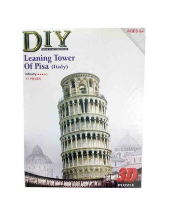 3d puzzle build my world leaning tower pisa tetragono 2