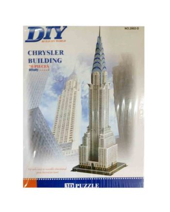 3d puzzle build my world oriental chrysler building tetragono 2