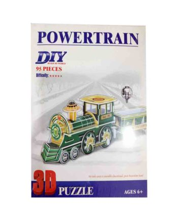 3d puzzle build my world powertrain tetragono 2