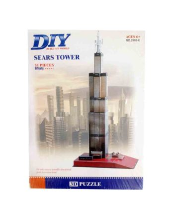 3d puzzle build my world sears tower tetragono 2