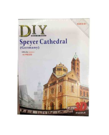 3d puzzle build my world speyer cathedral tetragono 2