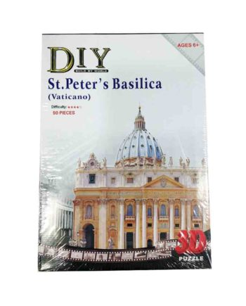 3d puzzle build my world st peter basilika tetragono 2