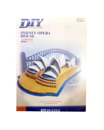 3d puzzle build my world sydney opera house tetragono 2
