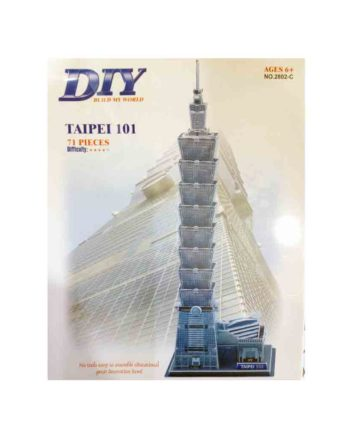 3d puzzle build my world taipei 101 tetragono 2