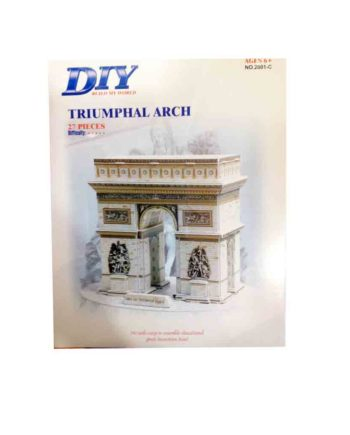3d puzzle build my world triumphal arch tetragono 2