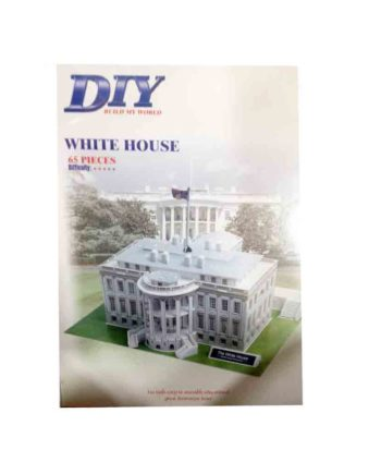 3d puzzle build my world white house tetragono 2