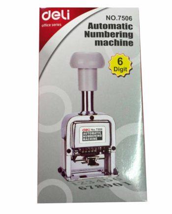 deli automatic numbering machine tetragono