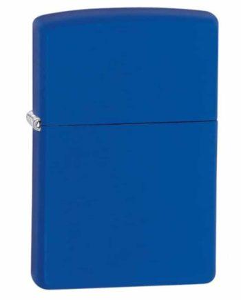 zippo brush blue matte tetragono1